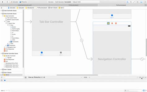 auto layout enable xcode unable to use auto layout ctrl drag on xcode after
