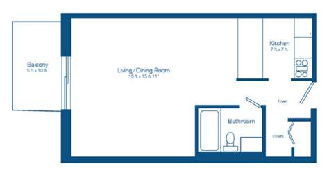 floor plan for bachelor flat apartment units close to algonquin college ottawa west