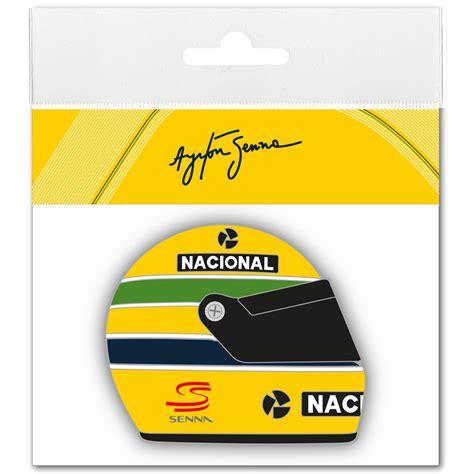 Helm Aufkleber Gelb by Ayrton Senna Aufkleber Helmet 1990 3d Ebay