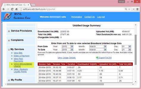 home broadband list of bsnl broadband home plans