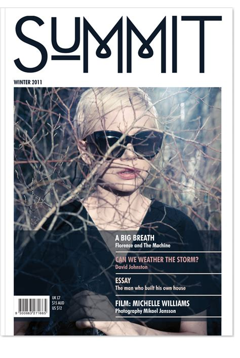 Magazine Layout Masthead | summit masthead http www creativeboysclub com tags girls