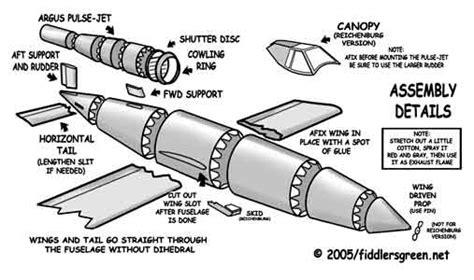 doodlebug jet engine v 1 missile aircraft