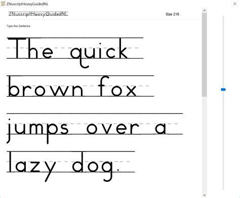 Font Letter Sle Sentences Sle Set D Print Schoolhouse Educational Handwriting Fonts