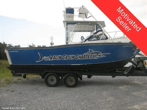 used gravois aluminum boats for sale gravois 24 aluminum walkaround in florida day fishing
