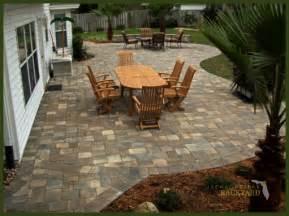 backyard patio designs with pavers jacksonville backyard hardscapes landscapes ecoscapes