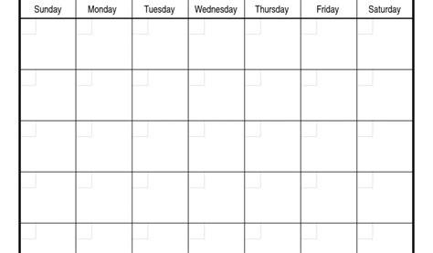 Microsoft Word Blank Monthly Calendar Template 2018 Calendar Template Microsoft Weekly Calendar Template