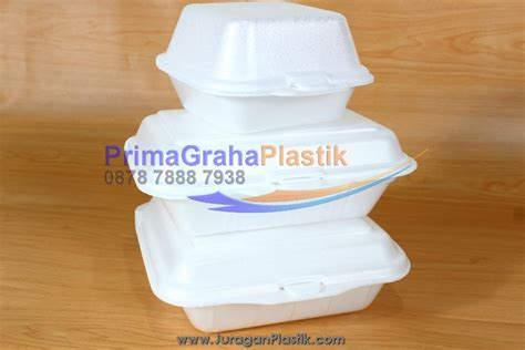 Box Nasi Styrofoam kotak makanan styrofoam small medium large home