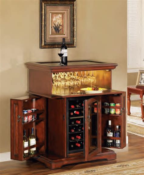 Tresanti Bar Cabinet Tresanti Dc2069c237 1835 Rosemont 18 Bottle Wine Cooler With Cabinet