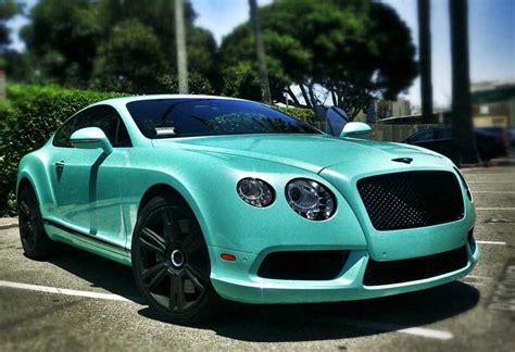 tiffany blue bentley bentley continental gt tiffany blue 777 exotic car
