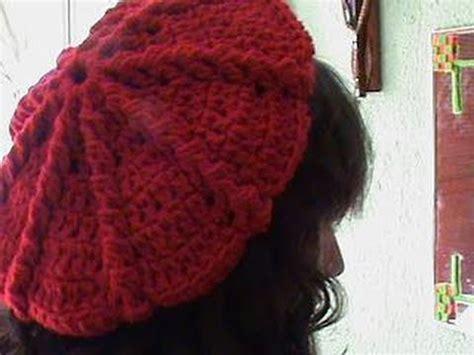como tejer gorros de crochet 2 de 3 como tejer gorro boina mediana ganchillo crochet