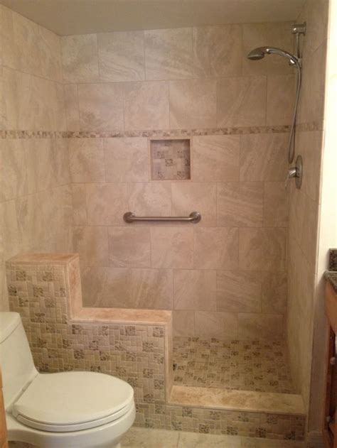 knee wall bathroom bathroom walk in shower with knee wall google search