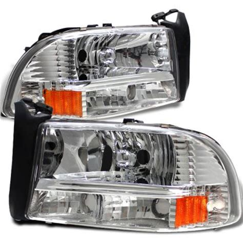 Dodge Dakota 1997 2004 Clear Euro Headlights   A101K268102