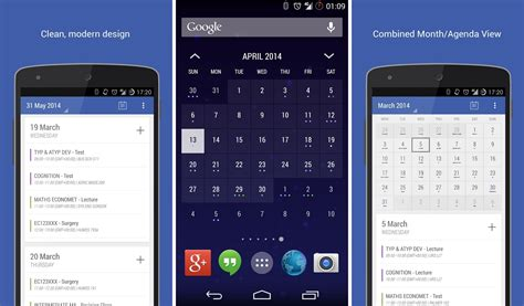 calendar app android best calendar apps for android showbox