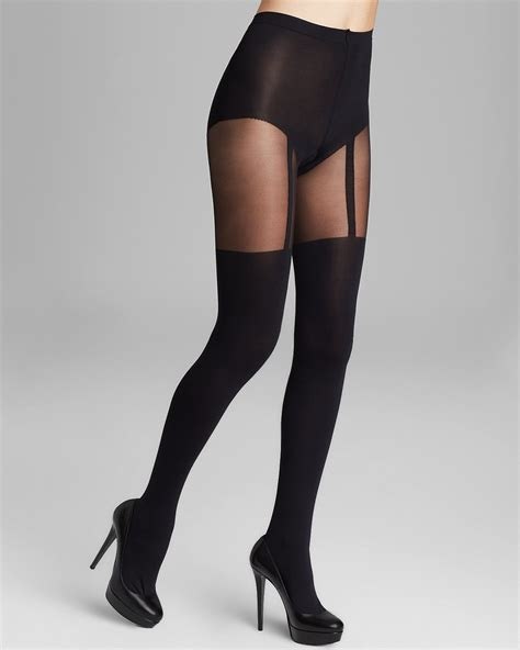 Pretty Polly Suspender Tights   Bloomingdale's