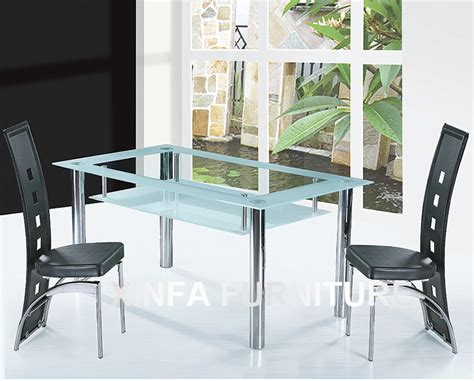 a chromed metal and glass oval dining table designed by cheap two layers tempered glass top chrome legs dining
