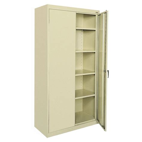 metal storage cabinets home depot sandusky classic series 72 in h x 36 in w x 18 in d