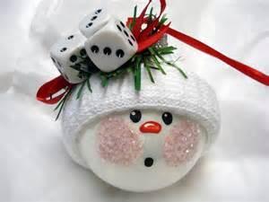 bunco christmas ornament tree bulb hand painted glass