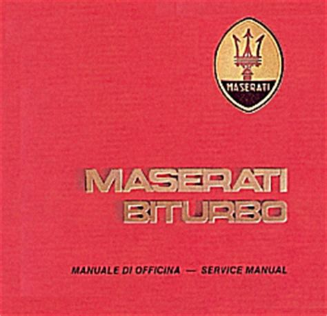 service and repair manuals 1986 maserati biturbo on board diagnostic system maserati workshop manual wrapupload
