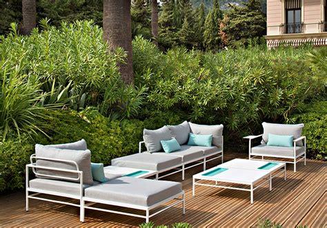 mobilier jardin design mobilier de jardin design pour profiter du jardin salon d ext 233 rieur et tables de repas vlaemynck