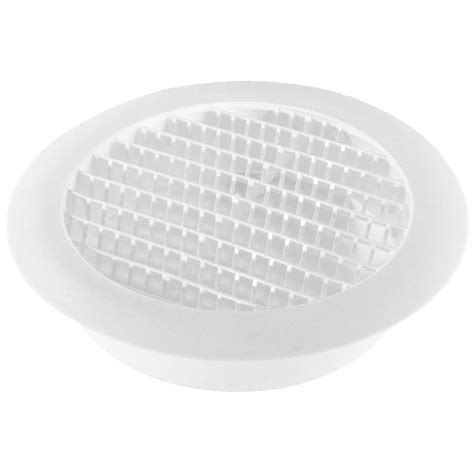 speedi products 6 in white soffit vent sm rsv 6