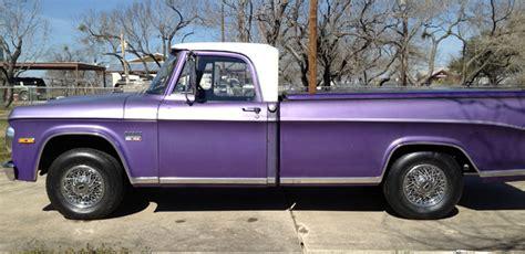 1970 Dodge 2Dr Truck