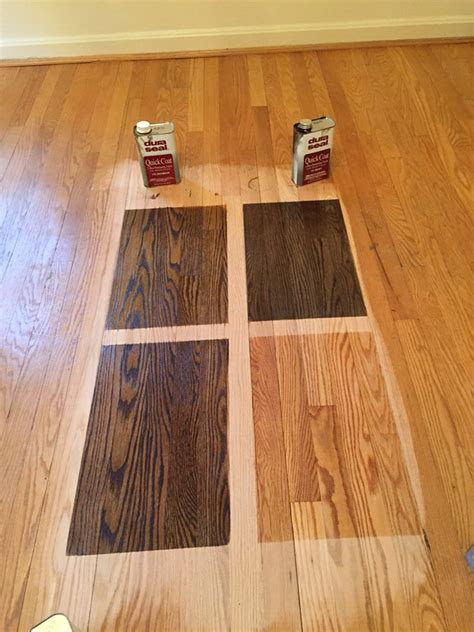 choosing the perfect stain color for your hardwood floor