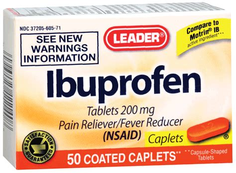 Proris Ibuprofen Capsul Ready leader ibuprofen orange caplets 50 count ready supply