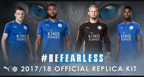 Leicester Home Jersey leicester city jersey 2017 2018 home away and third kits