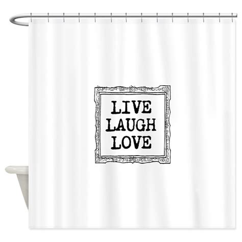 live love laugh curtains live laugh love shower curtain by hqart