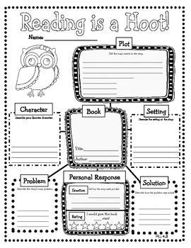 book report graphic organizer middle school graphic organizer book report middle school