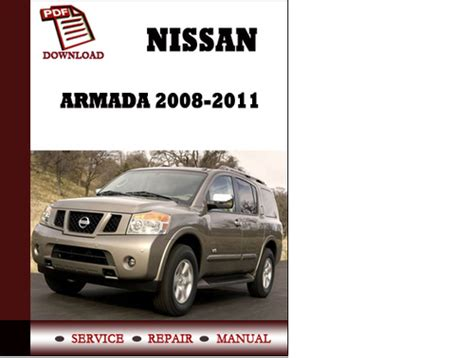 car service manuals pdf 2010 nissan armada on board diagnostic system service manual nissan armada 2008 2009 2010 2011 repair manual pdf