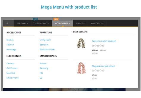 drupal themes with megamenu so mega menu drag drop responsive opencart 3 0 x