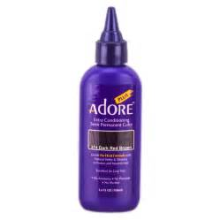 semi permanent hair color adore plus semi permanent color 342 burgundy adore