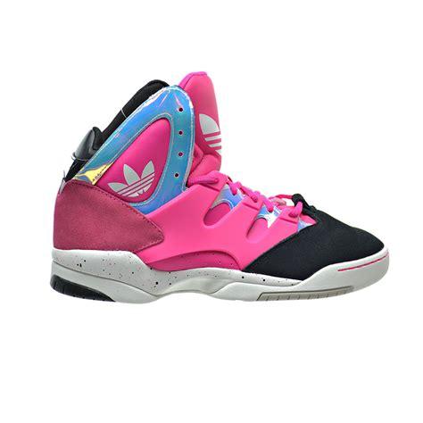 adidas glc  womens shoes pinkpinkblack retro basketball