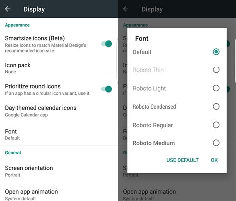 android launcher3 how to change your font settings on android androidpit