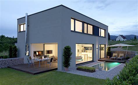 Maison D Architecte En Bois 2433 by H 228 User Bauen Modern Decor Maisons