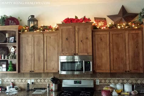 Rope Lights Above Cabinets In Kitchen Tree Happy Being Healthy