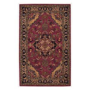 Handmade Wool Rugs From India - nourison india house 100 wool rust handmade rug ih02