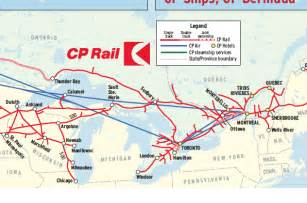 canada rail network map canadian pacific in 1974 trains magazine