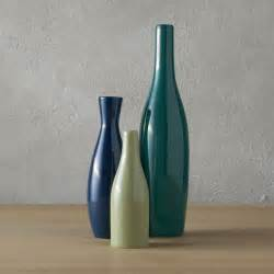 3 blue and green scout vase set cb2