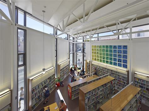 architecture firms north beach branch library lms architects archdaily