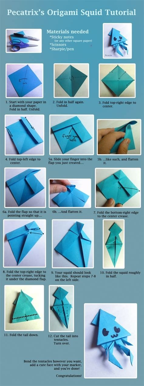 Easy Sticky Note Origami - 373 best origami images on origami paper diy