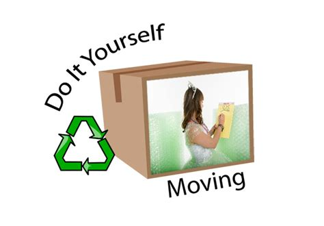Moving A By Yourself by Do It Yourself Moving Green Moving Happiness Home