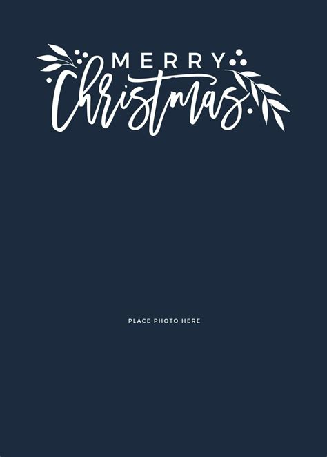 Make Your Own Photo Christmas Cards For Free Somewhat Simple Card Photo Templates