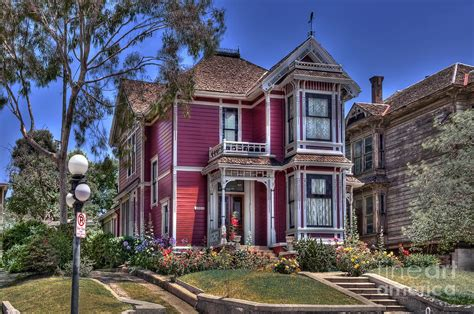 where is the charmed house house used in tv series charmed angelino heights ca photograph by david zanzinger