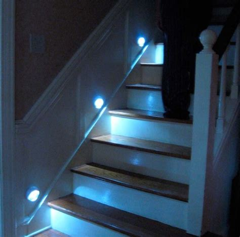 motion activated stair lights 15 stairway lighting ideas for modern and contemporary