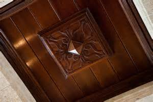 coffered ceiling tiles coffered ceiling with black walnut wood panels bonnin