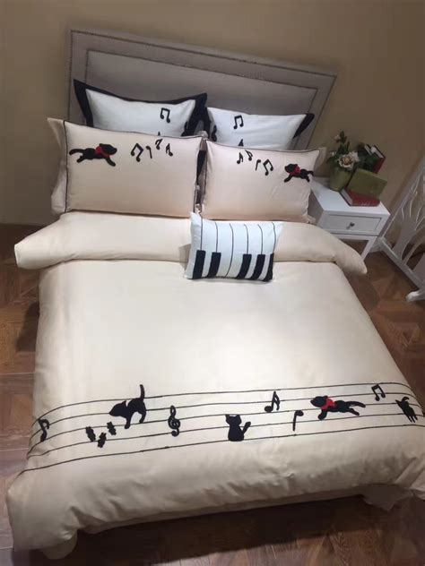 bedding sets musical notes promotion shop for promotional