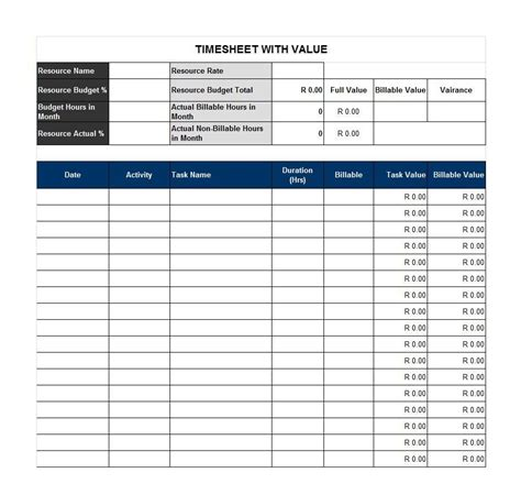 40 Free Timesheet Time Card Templates Template Lab Timesheet Template Sheets