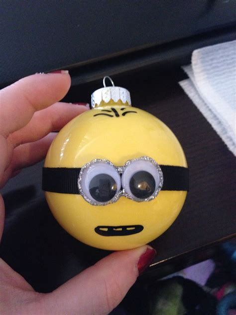 minion ornaments holidays pinterest acrylics